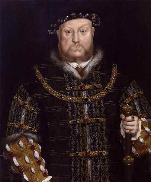 Генрих VIII. Начало XVII века.